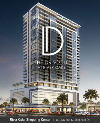 The Driscoll at River Oaks Rendering